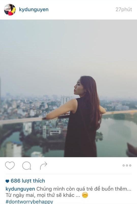 """Hoa hậu Kỳ Duyên: """"Chúng mình còn quá trẻ để buồn thêm"""""""