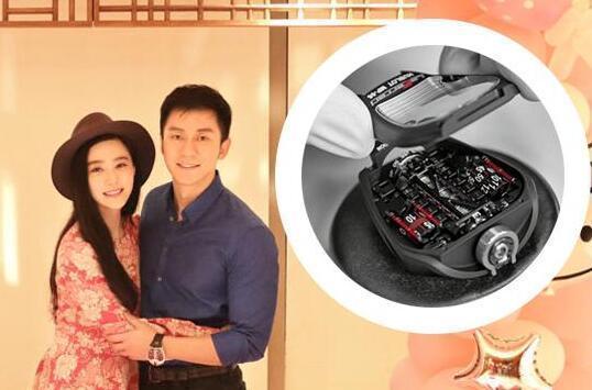 Lý Thần đeo đồng hồ 8,4 tỷ VND, chứng tỏ giàu ngang ngửa Phạm Băng Băng