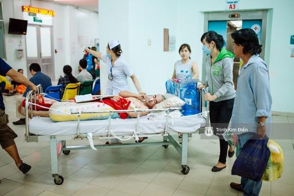 Diễn viên Nguyễn Hoàng vẫn chưa qua giai đoạn nguy hiểm