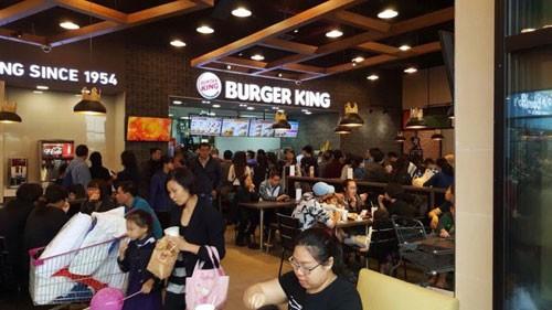 Burger King khẳng định bám trụ thị trường VN