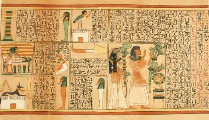 Cuộn giấy cói cổ đại Ai Cập chứa nhiều bí ẩn về du hành thời gian và không gian