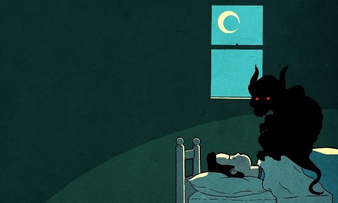 """Bí ẩn của """"bóng đè"""": Tỉnh giấc, không thể cử động và những âm hồn ma quỷ"""