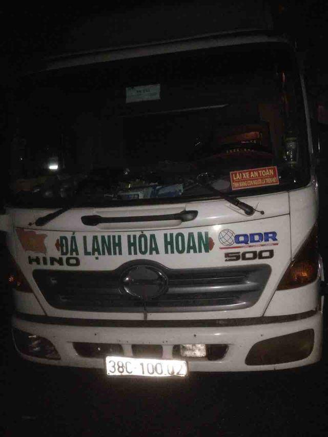 Lại phát hiện tài xế xe tải có sử dụng ma tuý