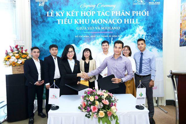Lễ ký kết hợp tác chiến lược phân phối tiểu khu Monaco Hill