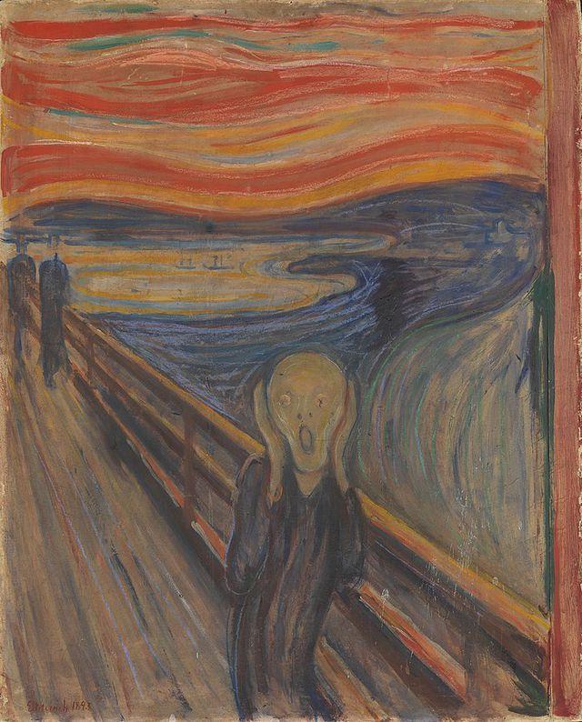 """Bức """"Tiếng thét"""" hóa ra không khắc họa người đang... thét"""