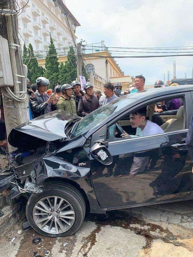 Việt kiều Mỹ gây tai nạn hàng loạt ở Đà Lạt dương tính với chất cần sa
