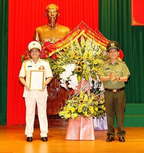 Tân Giám đốc Công an tỉnh Ninh Bình Phạm Văn Sơn từng giữ chức vụ gì?