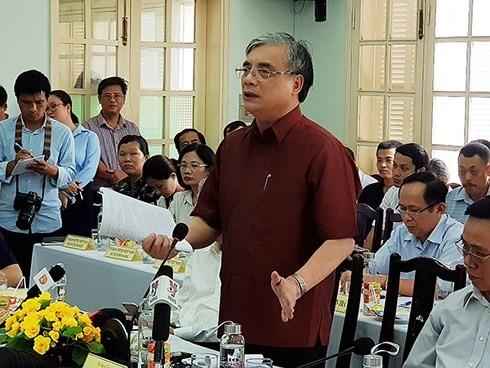 """Ông Trần Đình Thiên: Lời nói thẳng tại hội nghị phản biện dự án """"lấn sông Hàn"""""""