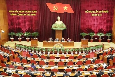 Hội nghị Trung ương 10: Bàn thảo đề cương văn kiện trình Đại hội XIII