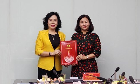 Chân dung tân Trưởng ban Dân vận Thành ủy Hà Nội Nguyễn Thị Tuyến