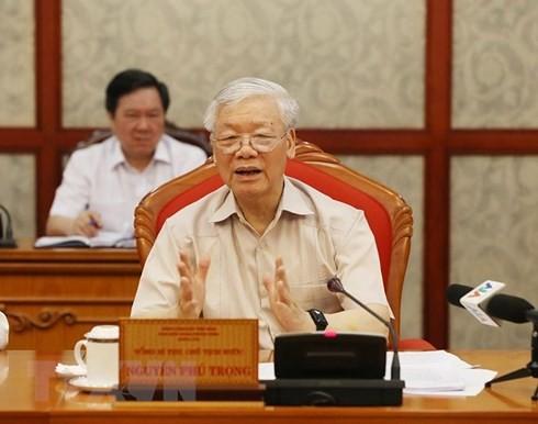 Tổng Bí thư: Chuẩn bị và tổ chức thật tốt đại hội đảng bộ các cấp