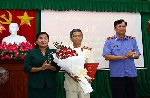 Điều động, bổ nhiệm nhân sự mới tại Bình Phước, Hòa Bình và Hà Nam