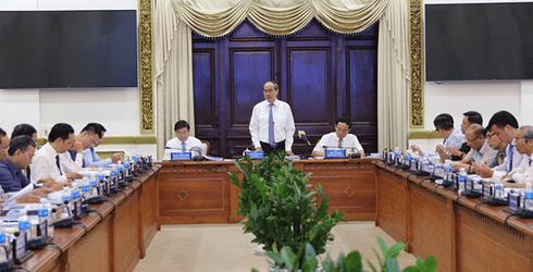 Bí thư Thành ủy Nguyễn Thiện Nhân: Cần chốt cơ chế tư vấn đô thị thông minh cho TP.HCM
