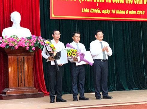 Đà Nẵng: Điều động PGĐ Sở GTVT làm Phó Bí thư quận Liên Chiểu