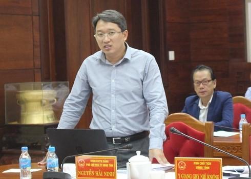 Tân Phó Chánh  Văn phòng Trung ương Đảng  Nguyễn Hải Ninh