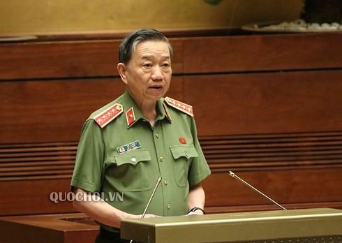 Bộ trưởng Tô Lâm:Tội phạm ma túy diễn biến phức tạp, xảy ra nhiều vụ án nghiêm trọng