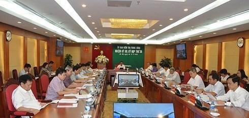 UBKT Trung ương họp và xem xét, thi hành kỷ luật một số cá nhân, tổ chức