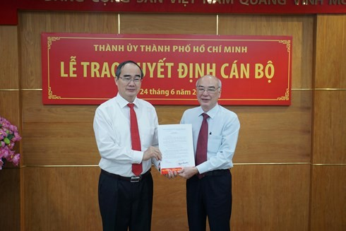 Phó đoàn ĐBQH TP.HCM giữ chức Trưởng Ban tuyên giáo Thành ủy