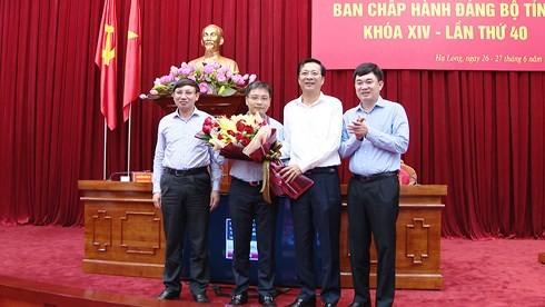 Tân Phó bí thư tỉnh Quảng Ninh Nguyễn Văn Thắng
