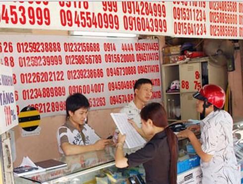 Sẽ kỷ luật lãnh đạo nhà mạng nếu để SIM rác bán trên thị trường