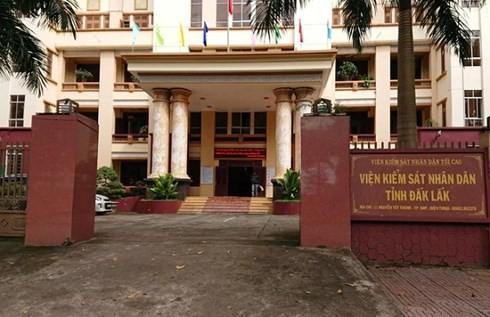 Kỷ luật khiển trách về mặt Đảng đối với nguyên Viện trưởng VKSND tỉnh Đắk Lắk