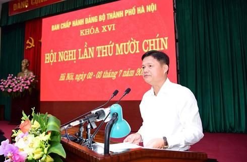 Hà Nội: 6 tháng đầu năm kỷ luật gần 500 đảng viên