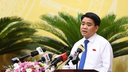 Chủ tịch Hà Nội Nguyễn Đức Chung: Để nguồn tiền không tiêu hết là có lỗi với người dân