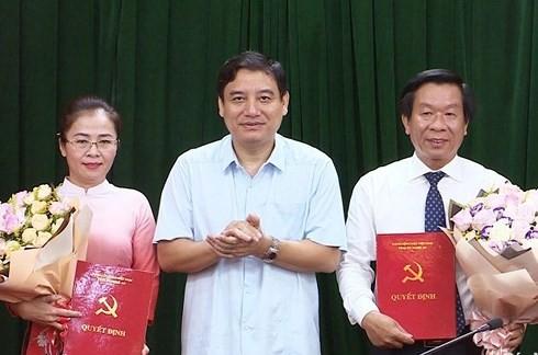 Nhân sự mới 6 tỉnh: Nghệ An, TP.HCM, Thái Bình, Hải Phòng, Ninh Bình, Sơn La