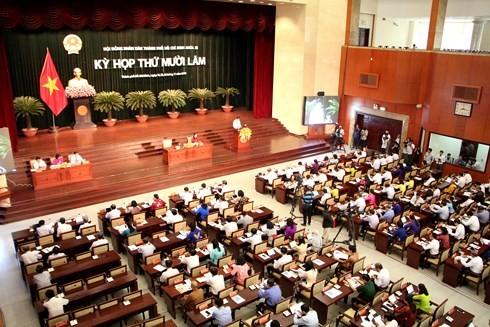 Kỳ họp HĐND không giấy tờ tại TP.HCM