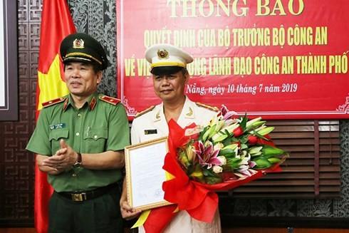 Phó giám đốc Công an Đà Nẵng làm Phó chánh thanh tra Bộ Công an