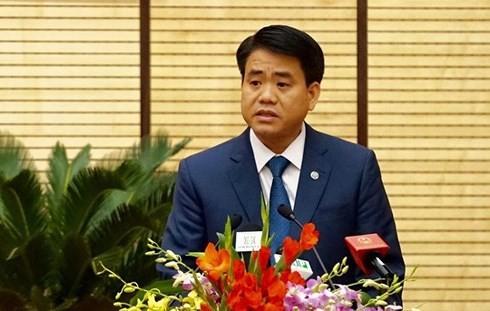 Chủ tịch Hà Nội báo cáo gì với HĐND TP về công tác phòng chống tham nhũng?