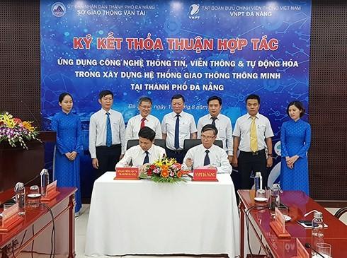 Đà Nẵng và VNPT hợp tác xây dựng Hệ thống giao thông thông minh