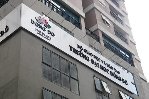 """Bộ Giáo dục khẳng định Trường ĐH Đông Đô đào tạo """"chui"""" văn bằng 2"""