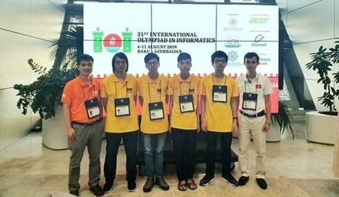 Việt Nam xếp hạng thứ 4 thế giới tại Olympic Tin học quốc tế 2019