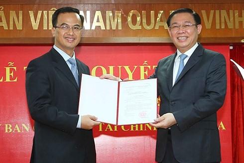 Thủ tướng bổ nhiệm Phó chủ tịch Ủy ban Giám sát tài chính quốc gia Vũ Nhữ Thăng