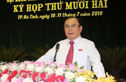Dính sai phạm, Chủ tịch HĐND và Trưởng ban Tổ chức TP Hà Tĩnh nhận án kỷ luật