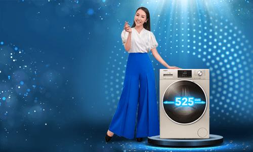 Điểm cộng của máy giặt lồng lớn