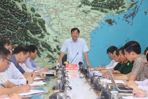 Bộ Trưởng Nguyễn Xuân Cường: Không được chủ quan khi ứng phó với bão số 4