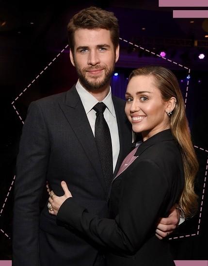 Liam Hemsworth chúc Miley sức khỏe và hạnh phúc