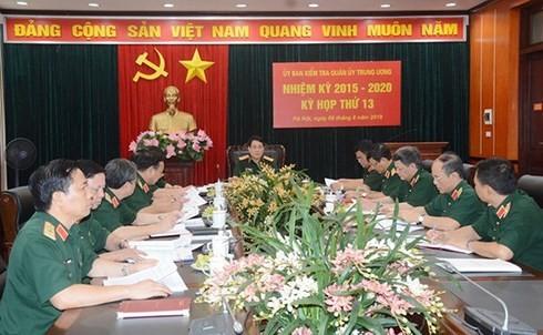 Ủy ban Kiểm tra Quân ủy Trung ương đề nghị kỷ luật 10 đảng viên và quân nhân