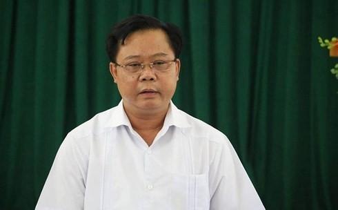 Phó chủ tịch Sơn La bị kỷ luật cảnh cáo sau vụ gian lận điểm thi 2018