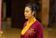 Mai KinZhang đưa tông màu ấm vào thời trang pháp phục