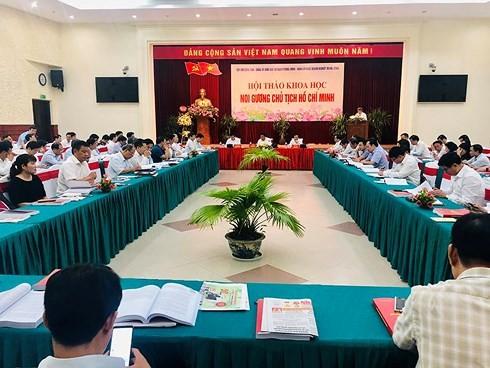 """Noi gương Chủ tịch Hồ Chí Minh cần tránh """"bệnh"""" thành tích"""