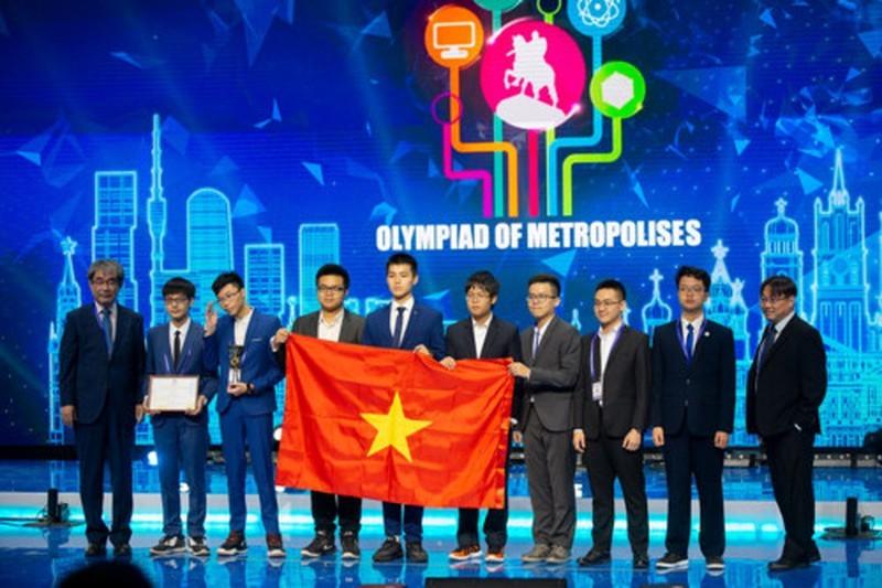 Học sinh Việt Nam đạt thành tích ấn tượng tại Olympic quốc tế Moskva