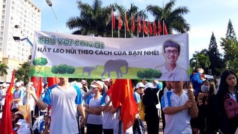 'Chú voi con' Đắk Lắk lỡ hẹn với vòng nguyệt quế Olympia