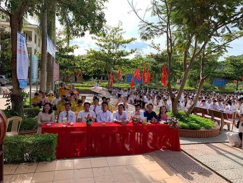 Quảng Bình: Các trường học vùng lũ tổ chức khai giảng năm học 2019-2020
