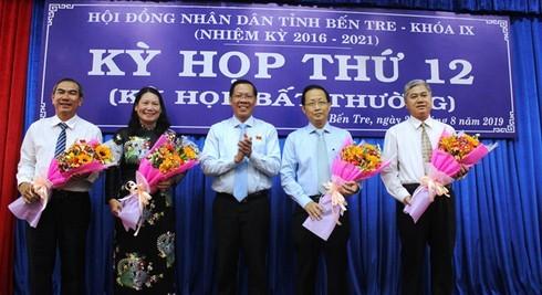 Bến Tre chính thức có hai tân Phó chủ tịch UBND tỉnh