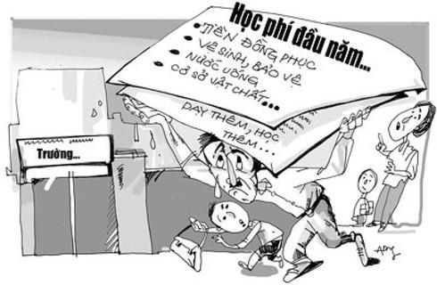 Chính phủ ra nghị quyết ngăn chặn tình trạng lạm thu đầu năm học