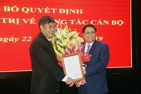 Bí thư Tỉnh ủy Sơn La Nguyễn Hữu Đông