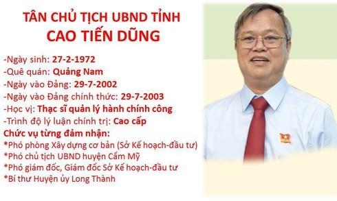 Ban Bí thư chỉ định, chuẩn y nhân sự lãnh đạo chủ chốt tỉnh Đồng Nai